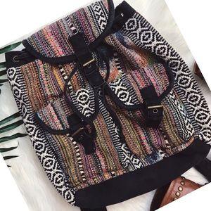Handbags - TRENDY | aztec print faded backpack